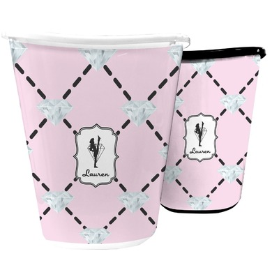Diamond Dancers Waste Basket (Personalized)