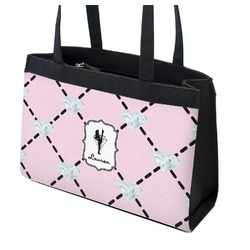 Diamond Dancers Zippered Everyday Tote (Personalized)