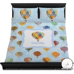 Watercolor Hot Air Balloons Duvet Covers (Personalized)