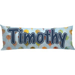 Watercolor Hot Air Balloons Body Pillow Case (Personalized)