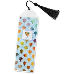 Watercolor Hot Air Balloons Book Mark w/Tassel (Personalized)