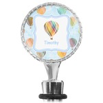 Watercolor Hot Air Balloons Wine Bottle Stopper (Personalized)