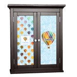 Watercolor Hot Air Balloons Cabinet Decal - Custom Size (Personalized)