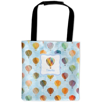 Watercolor Hot Air Balloons Auto Back Seat Organizer Bag (Personalized)