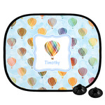 Watercolor Hot Air Balloons Car Side Window Sun Shade (Personalized)