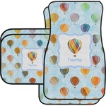 Watercolor Hot Air Balloons Car Floor Mats (Personalized)
