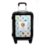 Watercolor Hot Air Balloons Carry On Hard Shell Suitcase (Personalized)