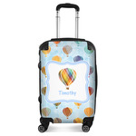 Watercolor Hot Air Balloons Suitcase (Personalized)
