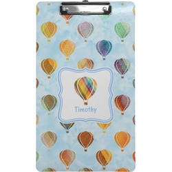 Watercolor Hot Air Balloons Clipboard (Legal Size) (Personalized)