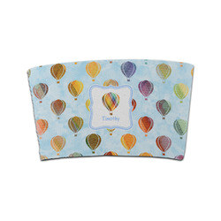 Watercolor Hot Air Balloons Coffee Cup Sleeve (Personalized)