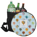 Watercolor Hot Air Balloons Collapsible Cooler & Seat (Personalized)