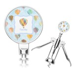 Watercolor Hot Air Balloons Corkscrew (Personalized)