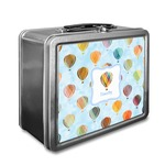 Watercolor Hot Air Balloons Lunch Box (Personalized)