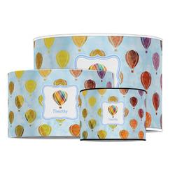 Watercolor Hot Air Balloons Drum Lamp Shade (Personalized)