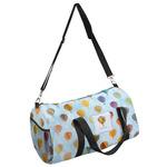 Watercolor Hot Air Balloons Duffel Bag (Personalized)