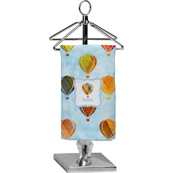 Watercolor Hot Air Balloons Finger Tip Towel - Full Print (Personalized)