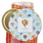 Watercolor Hot Air Balloons Jar Opener (Personalized)