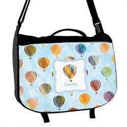 Watercolor Hot Air Balloons Messenger Bag (Personalized)