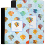Watercolor Hot Air Balloons Notebook Padfolio w/ Name or Text