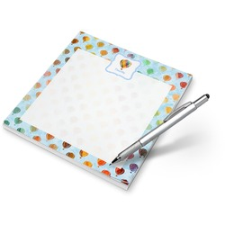 Watercolor Hot Air Balloons Notepad (Personalized)