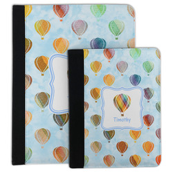 Watercolor Hot Air Balloons Padfolio Clipboard (Personalized)