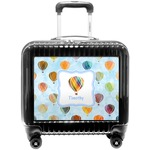Watercolor Hot Air Balloons Pilot / Flight Suitcase (Personalized)
