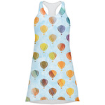 Watercolor Hot Air Balloons Racerback Dress (Personalized)