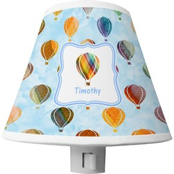 Watercolor Hot Air Balloons Shade Night Light (Personalized)