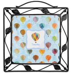 Watercolor Hot Air Balloons Trivet (Personalized)