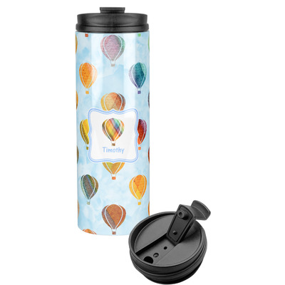 Watercolor Hot Air Balloons Stainless Steel Tumbler (Personalized)