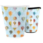 Watercolor Hot Air Balloons Waste Basket (Personalized)