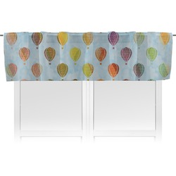 Watercolor Hot Air Balloons Valance (Personalized)