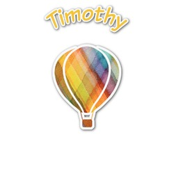 Watercolor Hot Air Balloons Graphic Decal - Custom Sized (Personalized)