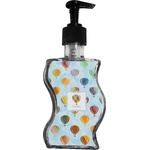 Watercolor Hot Air Balloons Wave Bottle Soap / Lotion Dispenser (Personalized)