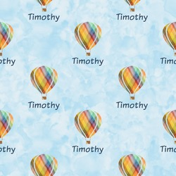 Watercolor Hot Air Balloons Wrapping Paper (Personalized)