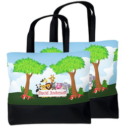 Animals Beach Tote Bag (Personalized)
