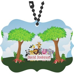 Animals Rear View Mirror Decor (Personalized)
