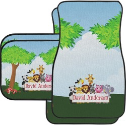 Animals Car Floor Mats (Personalized)
