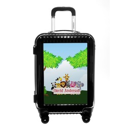 Animals Carry On Hard Shell Suitcase (Personalized)