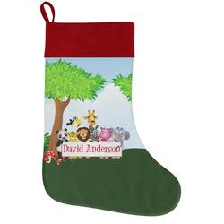 Animals Holiday / Christmas Stocking (Personalized)