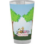 Animals Drinking / Pint Glass (Personalized)