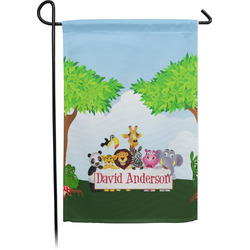 Animals Garden Flag - Single or Double Sided (Personalized)