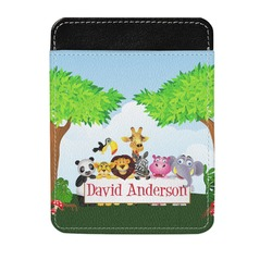 Animals Genuine Leather Money Clip (Personalized)