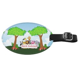 Animals Genuine Leather Luggage Tag (Personalized)
