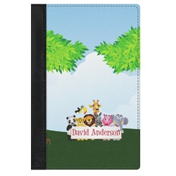 Animals Genuine Leather Passport Cover (Personalized)