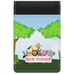 Animals Genuine Leather Small Memo Pad (Personalized)