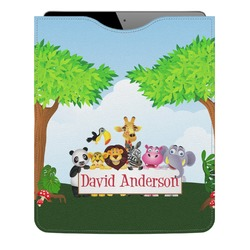 Animals Genuine Leather iPad Sleeve (Personalized)