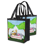 Animals Grocery Bag w/ Name or Text