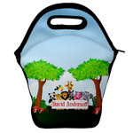 Animals Lunch Bag w/ Name or Text