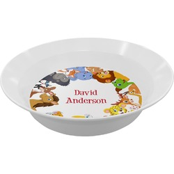 Animals Melamine Bowl (Personalized)